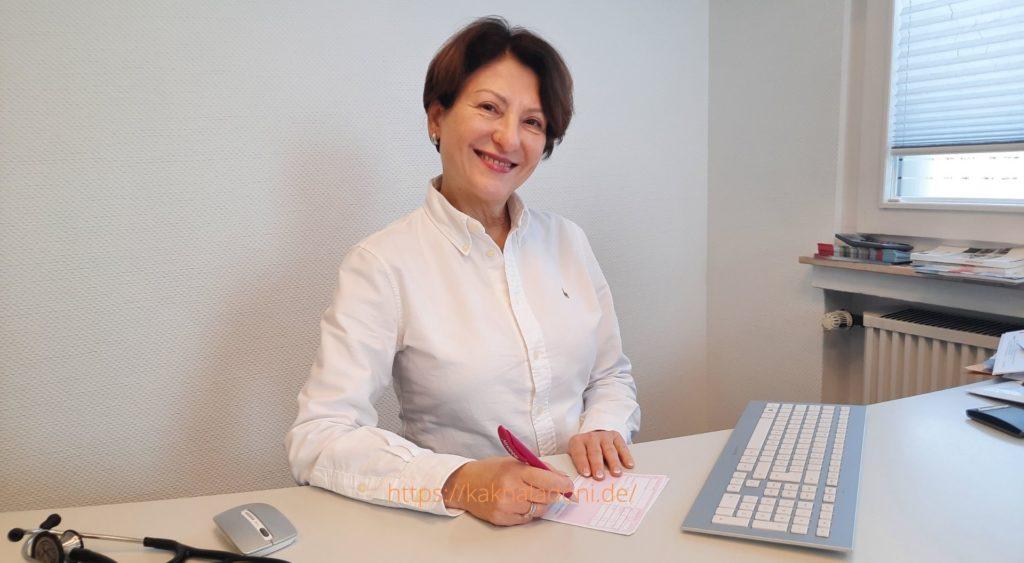 Tatjana Deutsch Fachärztin für Innere und Allgemeinmedizin  Akupunktur, Naturheilverfahren.