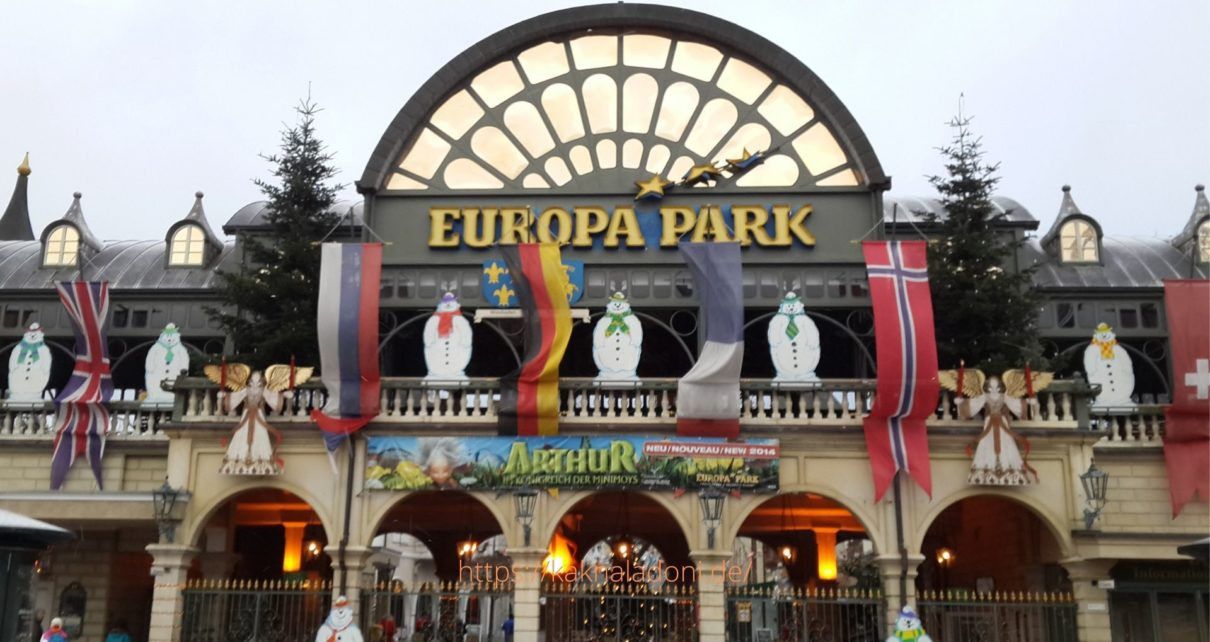 Европа парк - парк развлечений, Руст Германия