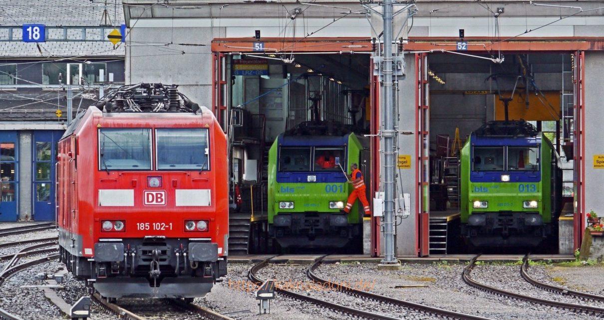 Забастовка железной дороги в Германии в 2021 году